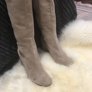 Stuart Weitzman Knee High Boots Natural size 11.5
